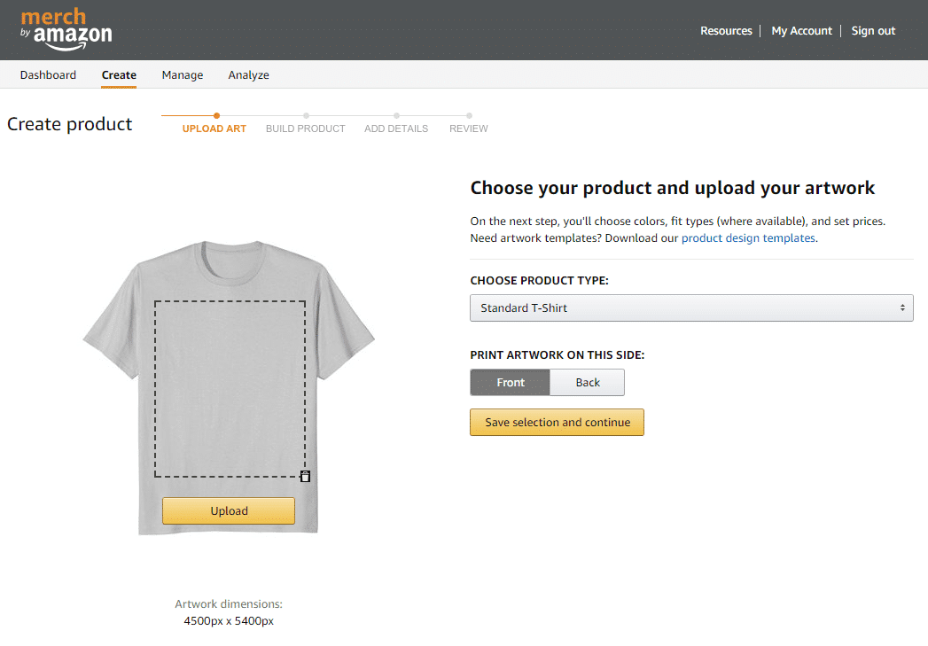 ff7b00193 Merch by Amazon: Start Your First T-Shirt Business - Startupbros
