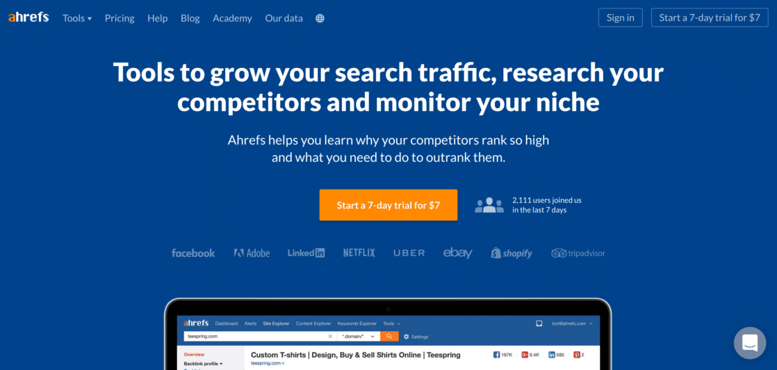 Using ahrefs for SEO